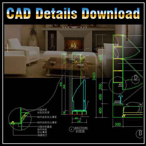 High Quality ☆【Interior Design Details】☆ | Free Cad Blocks U0026 Drawings Download Center